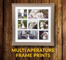 milti aperature framed prints